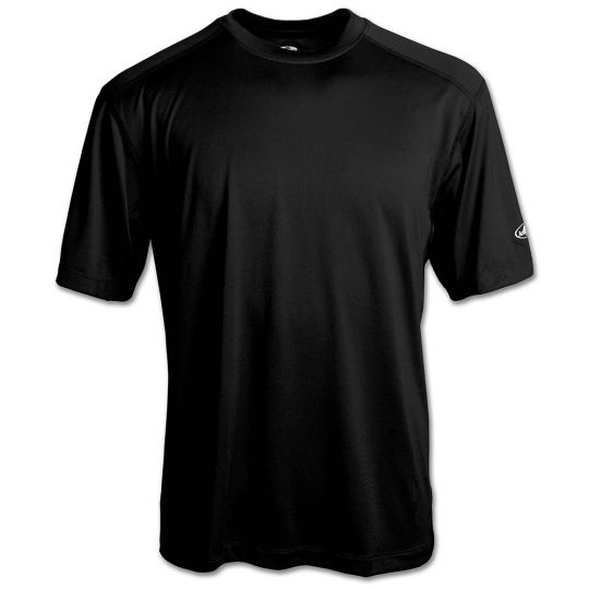 Transpiration T-Shirt (Short Sleeve) with GEO cool, Black